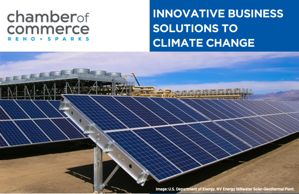 Innovative Business Solutions to Addressing Climate Change 3:00 PM – 5:00 PM